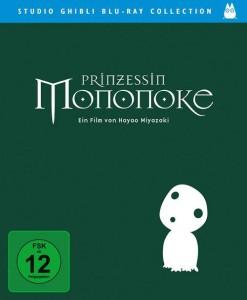 Deutsches Cover der Prinzessin Mononoke-Blu-ray.