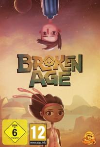 Cover der Verkaufsversion von Broken Age.