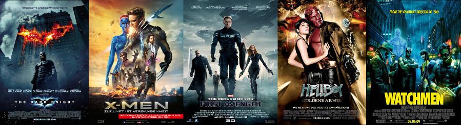 Superkräfte Filme